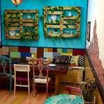 decoracion vintage, cafeteria