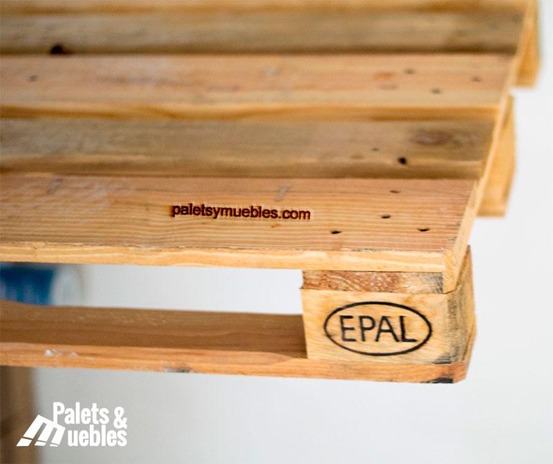 Palet europeo homologado palets y muebles - Muebles hechos con pale ...