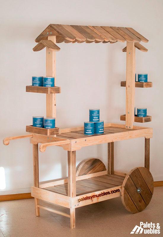 carrito-con-palets-montado-con-productos-chalk-paint-muebles-hechos-con-palets-reutilizados