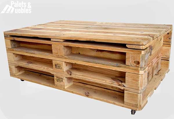 mesa de centro de palets - Mesa Con Palets