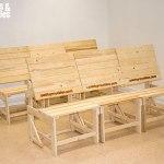 palets y muebles silla mesa