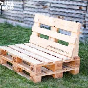 Carrito para eventos desmontable con tablas de palets for Sofa exterior con palets