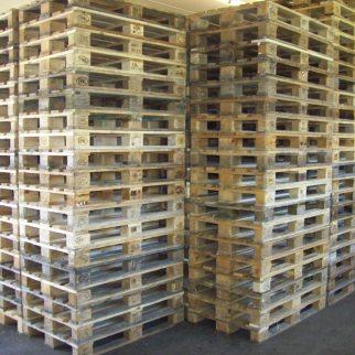 Aachener Palettenhandel Alpaslan Europaletten II. Wahl Bild Ertan Alpaslan