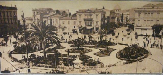 Στην Παλιά Αθήνα - Χάρτης Αθήνας - Η πλατεία Ομονοίας στην Βelle ...