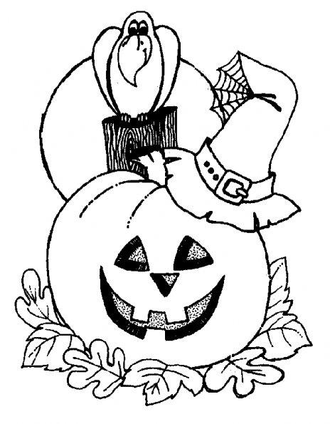 coloriage d halloween