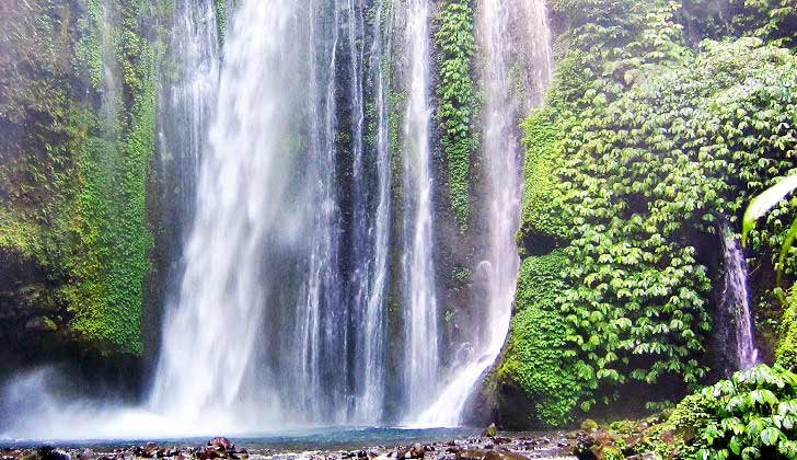 Air Terjun Di Lombok