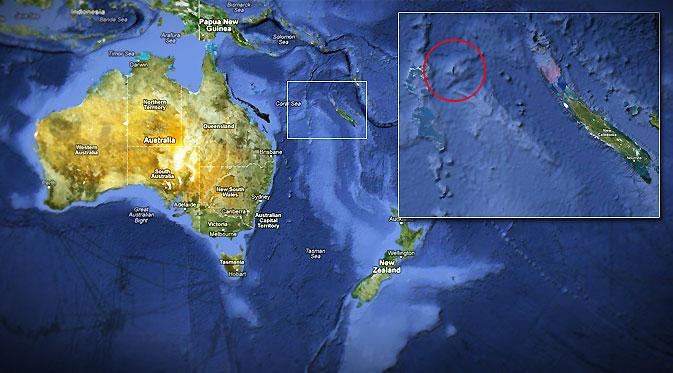Penampakan Aneh di Google Earth