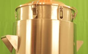 30 literes duplafalú pálinkafőző