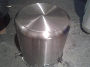30 literes szimpla falú pálinkafőző