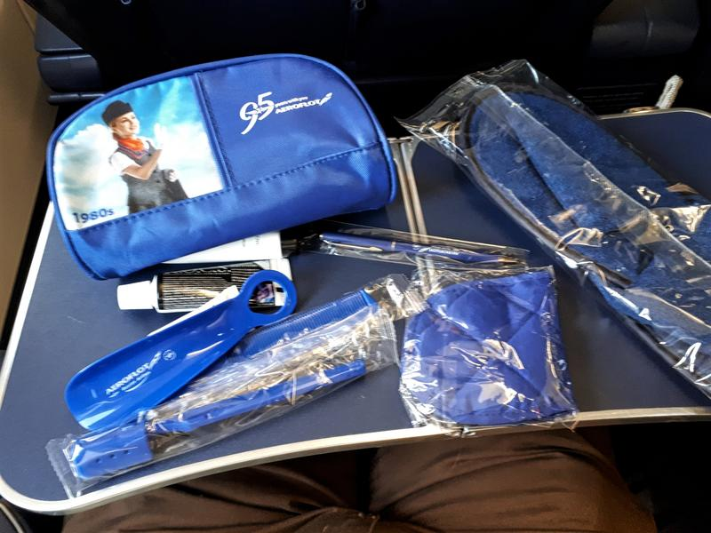 aeroflot amenity kit