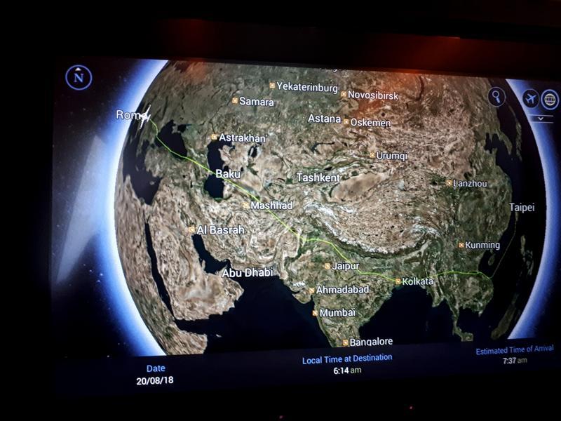 real flight path taiwan china