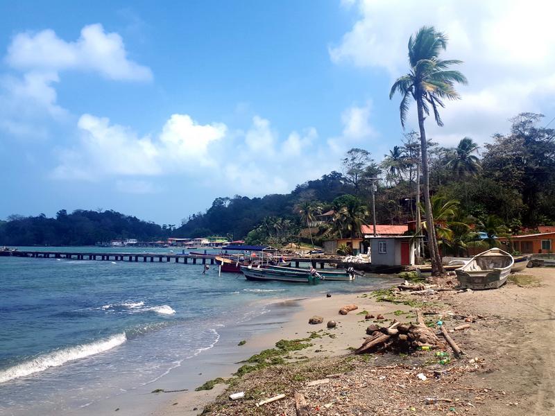 portobelo fishing port panama