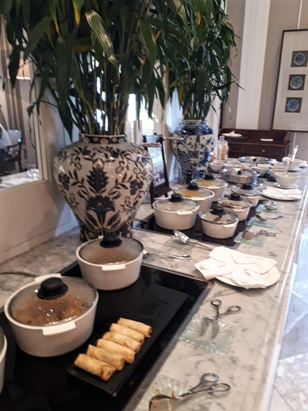 hermitage breakfast