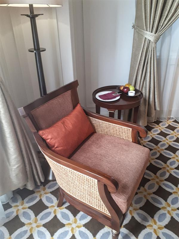 Hermitage seating corner