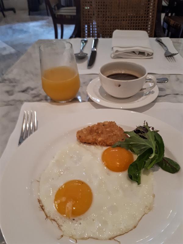 hermitage breakfast eggs