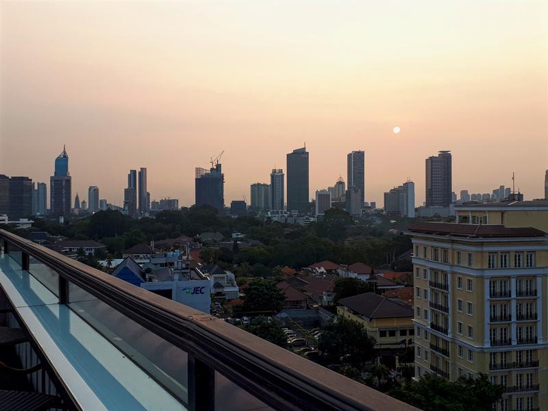 hermitage sunset jakarta
