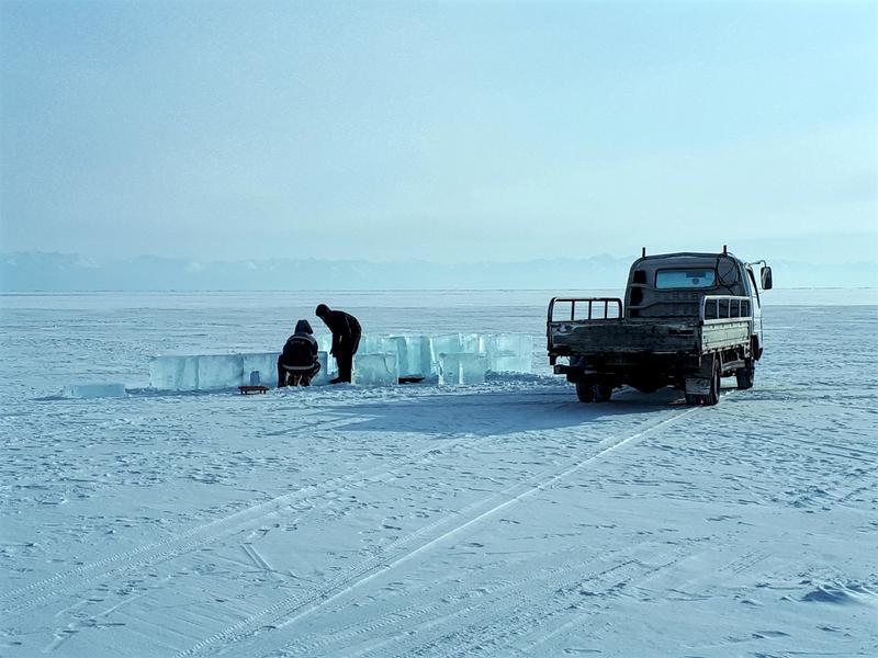 lake baikal ice