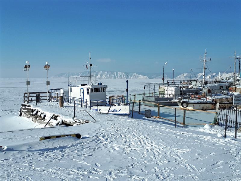 listvyanka fishing port lake baikal winter trip report