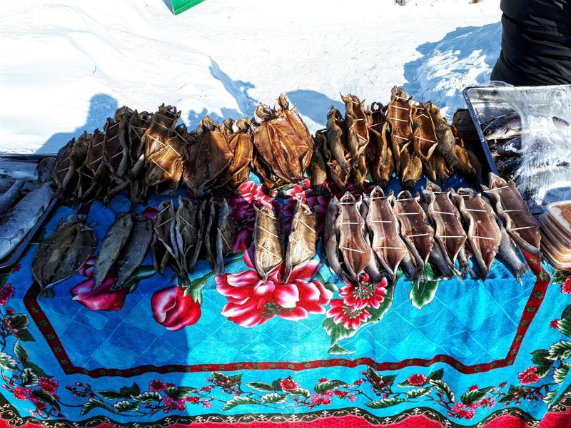smoked fish baikal
