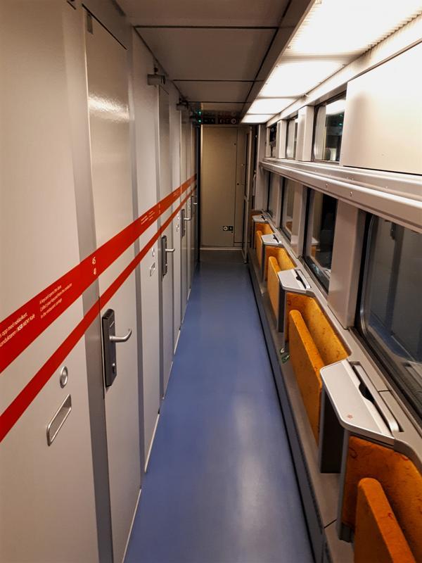 norway train corridor