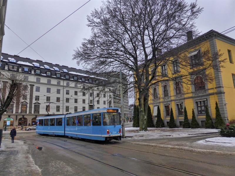 oslo city centre tram