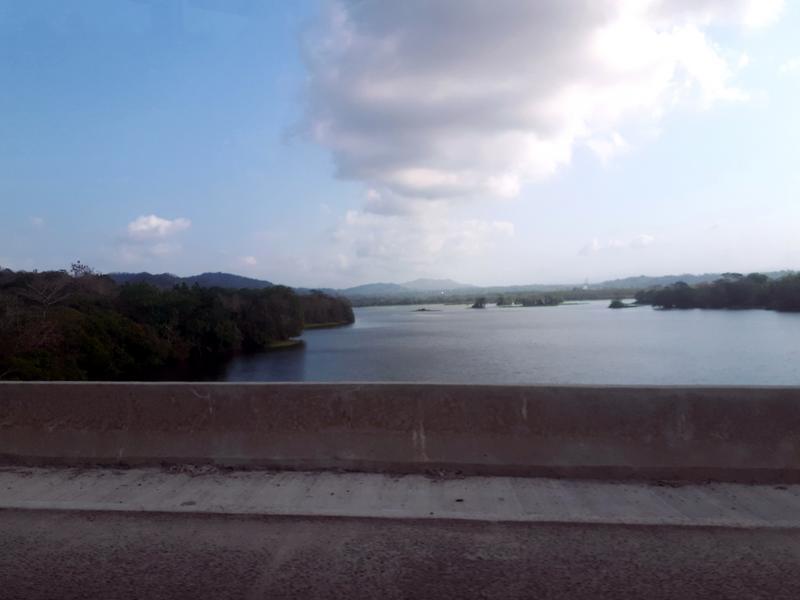 panama motorway view