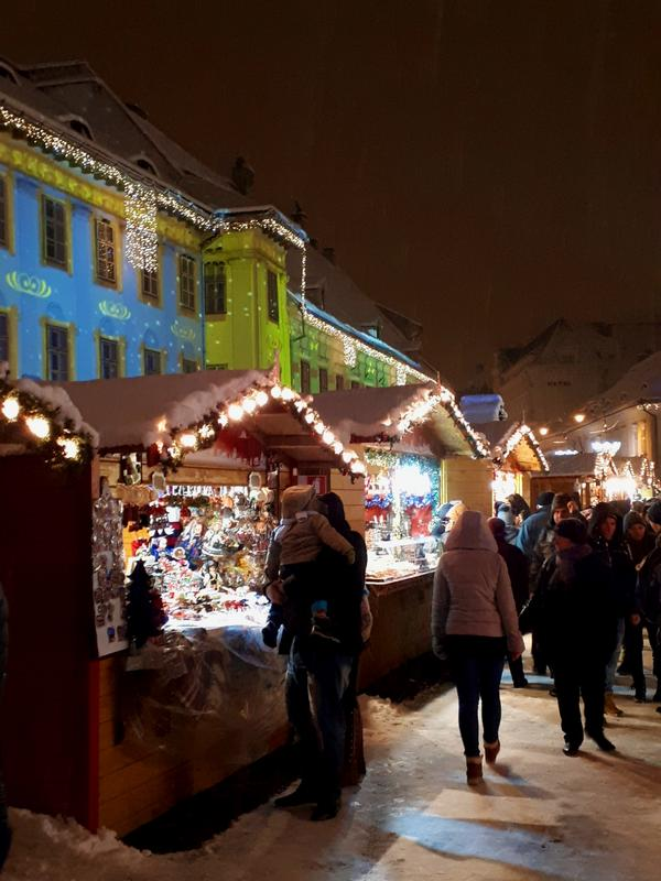 christmas market stall night trip report