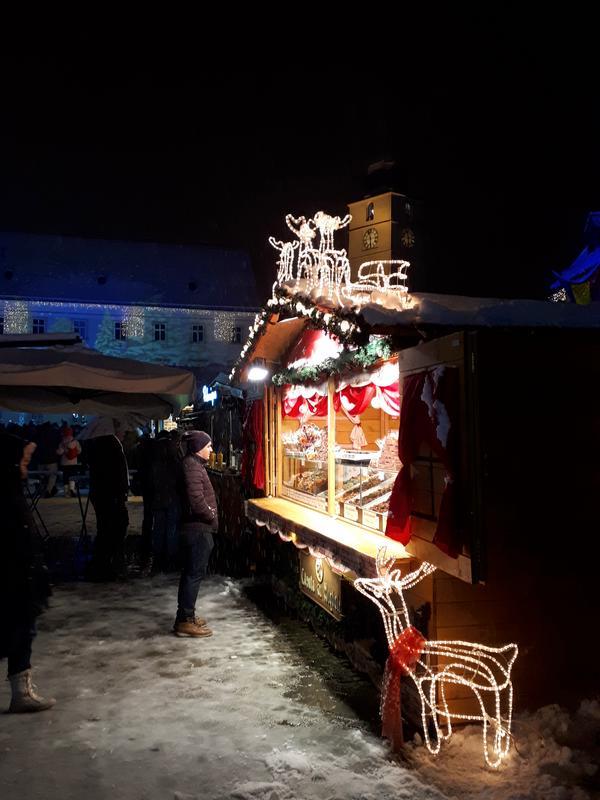 christmas market night