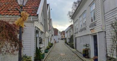stavanger old town houses
