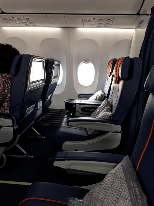 recliner seats boeing 737 aeroflot business class
