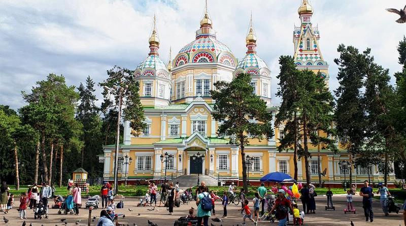zenkov cathedral almaty