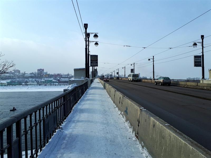 angara river bridge irkutsk