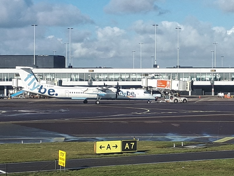 flybe plane collapse financial difficulties