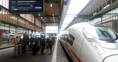 ICE high speed train germany