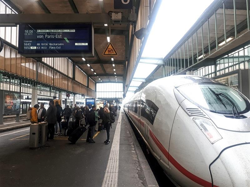 ICE high speed train germany