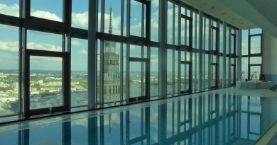 intercontinental warsaw poland swimming pool