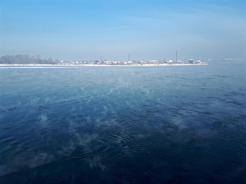 smoke water angara river irkutsk siberia trip report guide winter