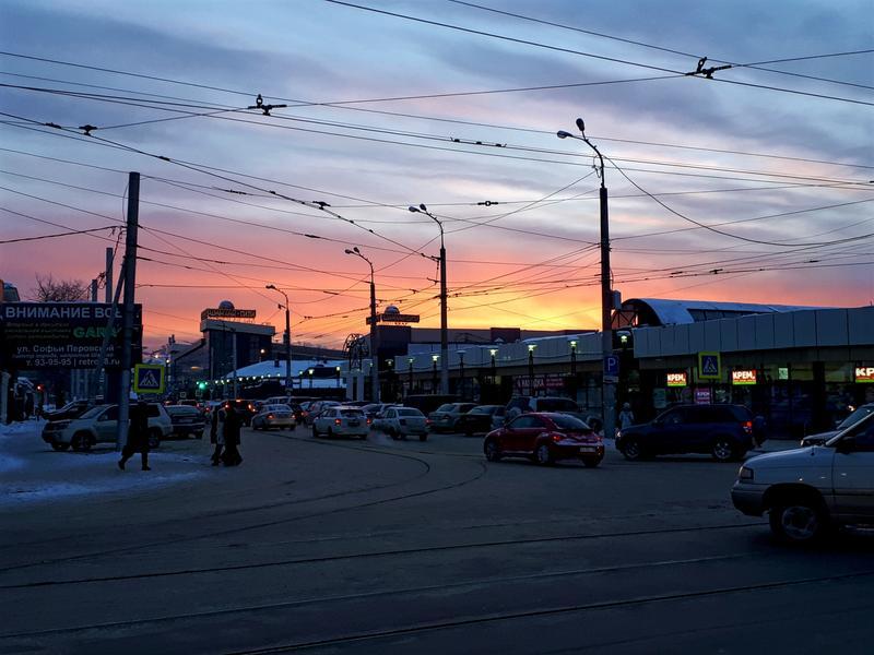 irkutsk sunset