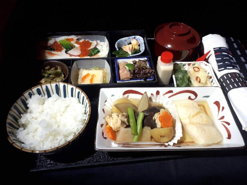 japanese breakfast japan airlines jal