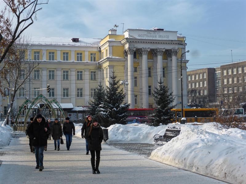 kirov square irkutsk trip report guide winter