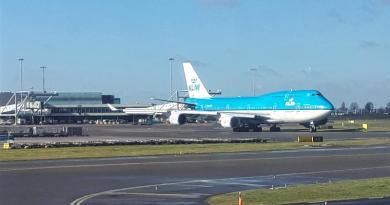 klm boeing 747 amsterdam