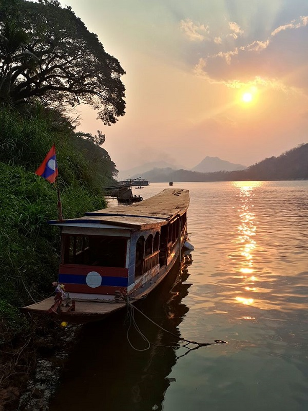 mekong luang prabang sunset laos trip report