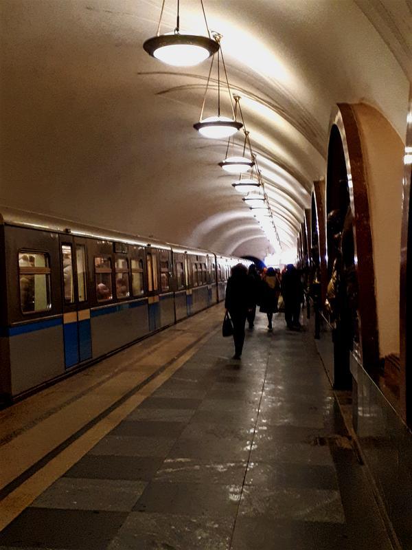 moscow metro train