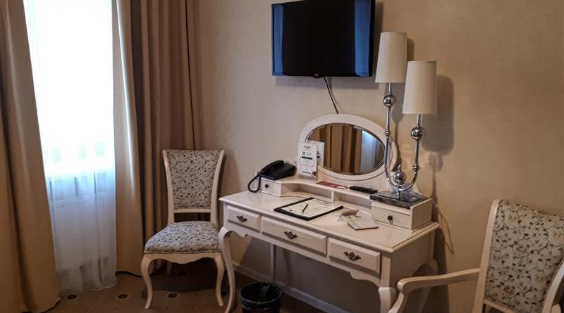 desk moscow pushkin hotel room