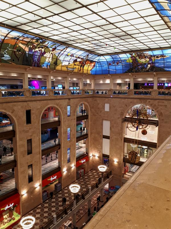 moscow shopping centre mall