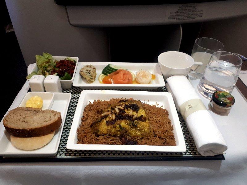saudia meal business class
