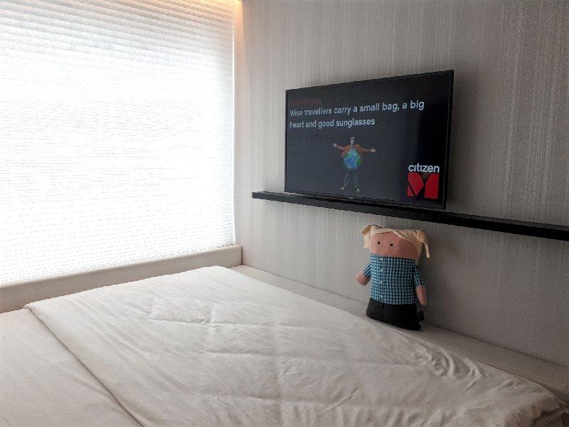 tv cuddly toy