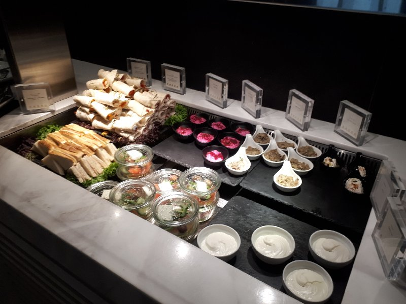 goldair handling lounge buffet