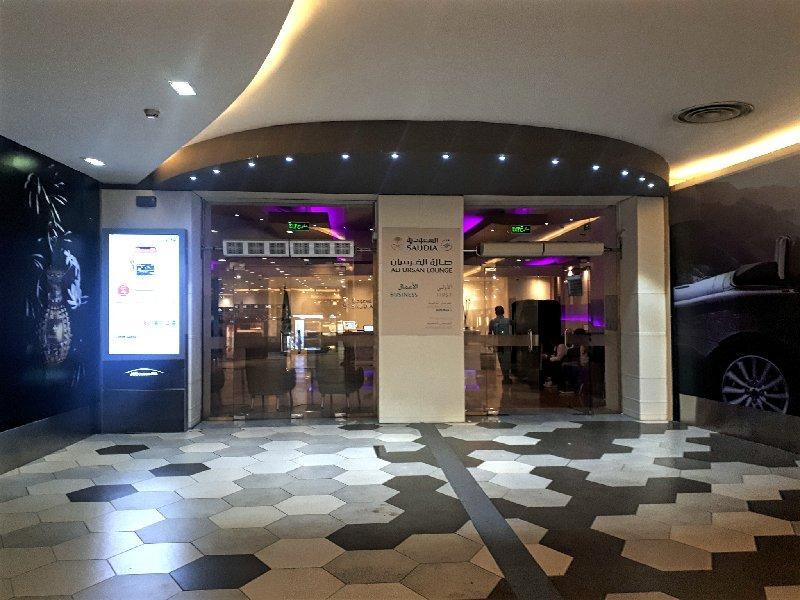jeddah alfursan business class lounge review