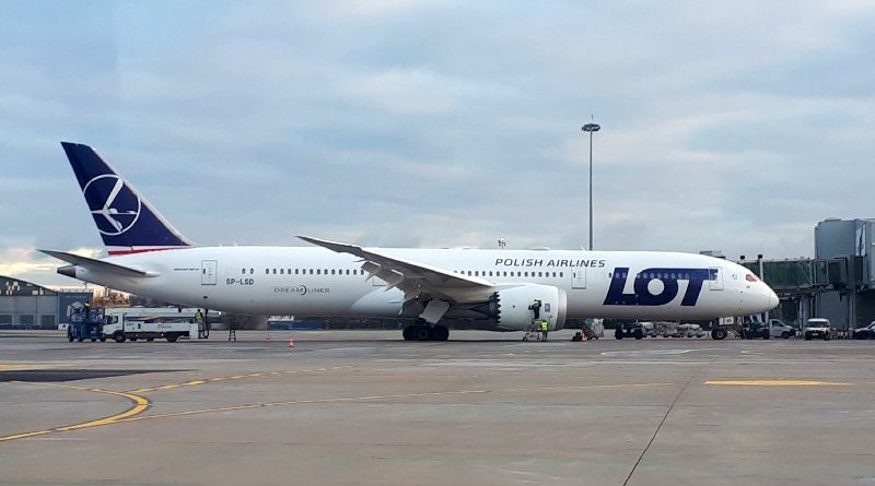 lot polish airlines 787 dreamliner
